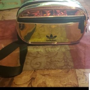 Adidas fanny pack multicolored